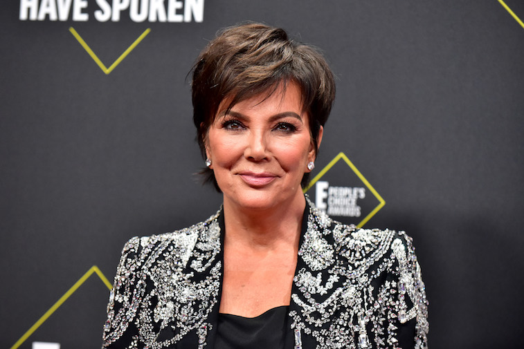 Kris Jenner on the red carpet