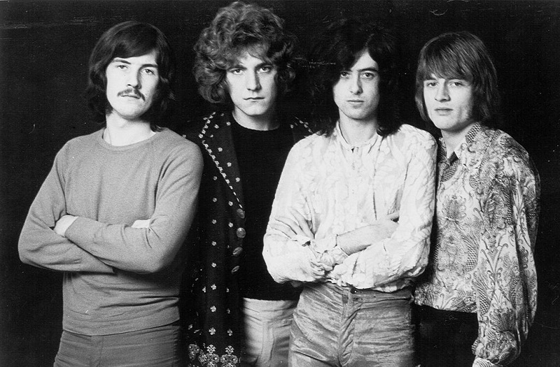 Led Zeppelin early band portrait, 1968