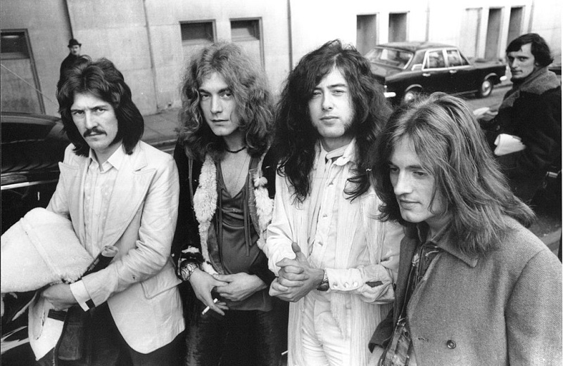 Led Zeppelin in 1969