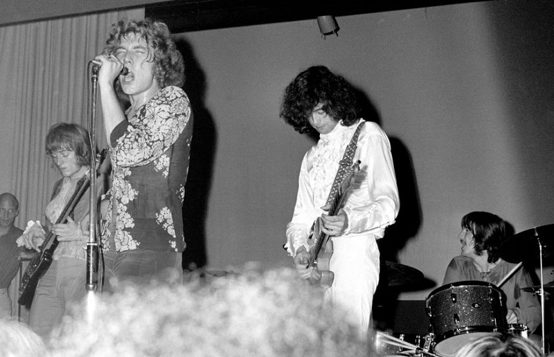 Led Zeppelin first tour, 1968