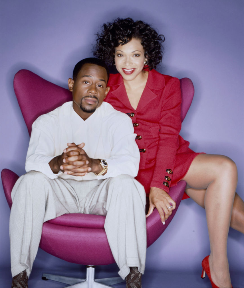 Martin Lawrence and Tisha Campbell of 'Martin'