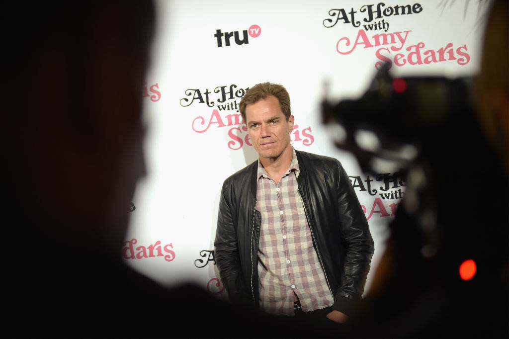 Michael Shannon at the At Home With Amy Sedaris premiere