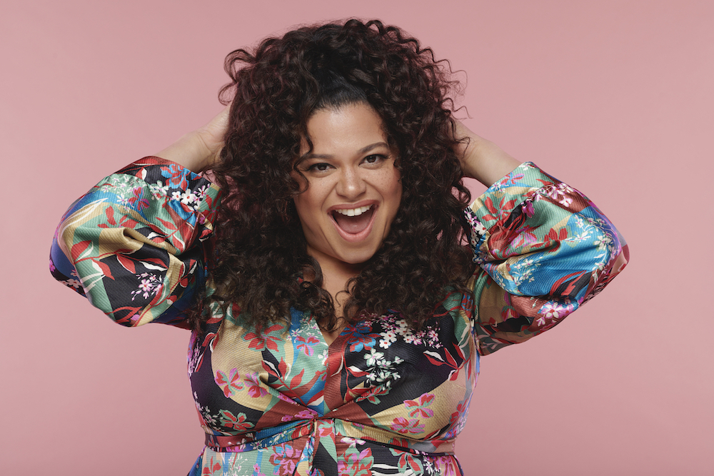 Michelle Buteau, the host for the American version of 'THE CIRCLE' on Netflix.