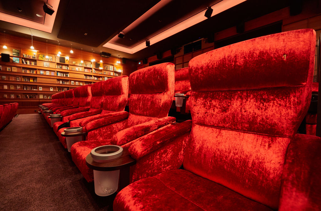 Movie theater in Germany |  Georg Wendt/picture alliance via Getty Images