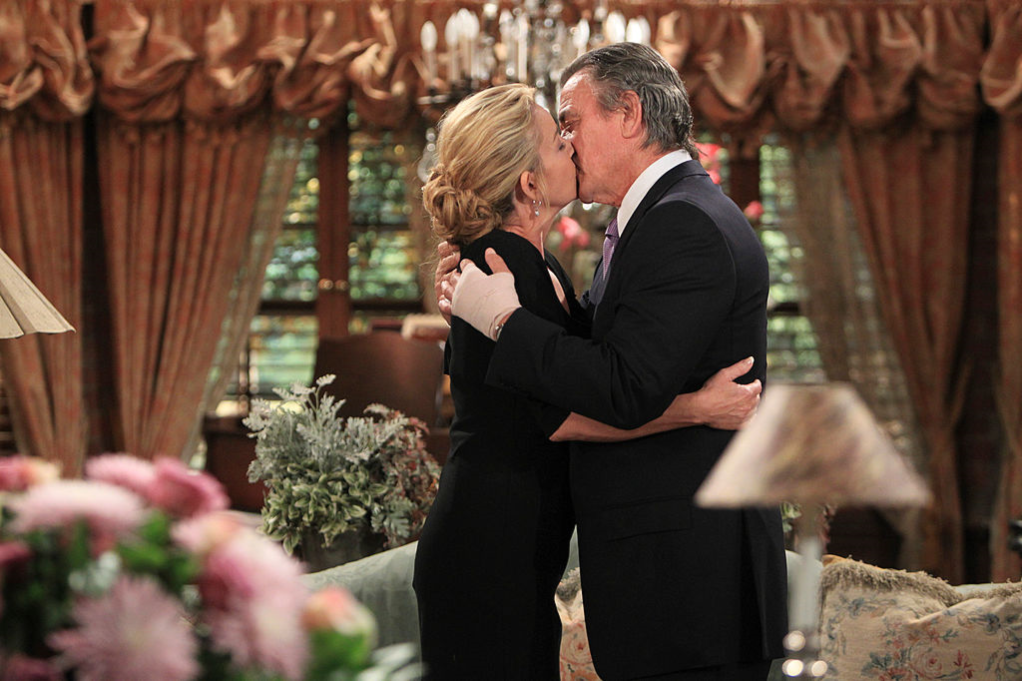 Melody Thomas Scott and Eric Braeden in 'The Young and the Restless'