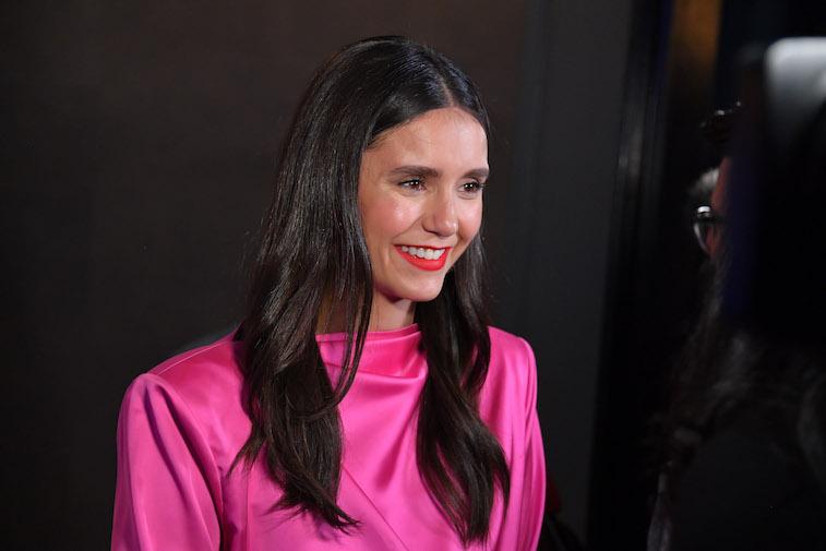 Nina Dobrev on the red carpet