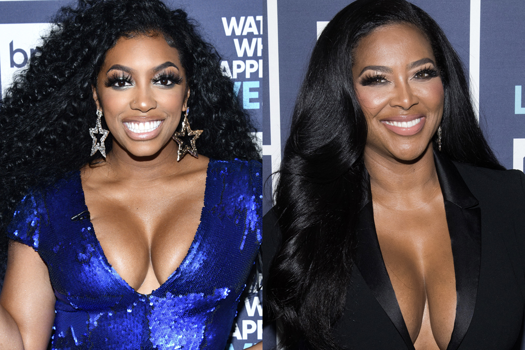 Porsha Williams and Kenya Moore