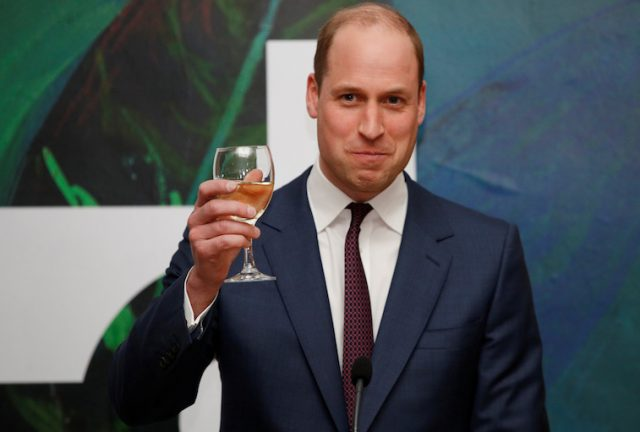 What Is Prince William's Favorite Alcoholic Drink?