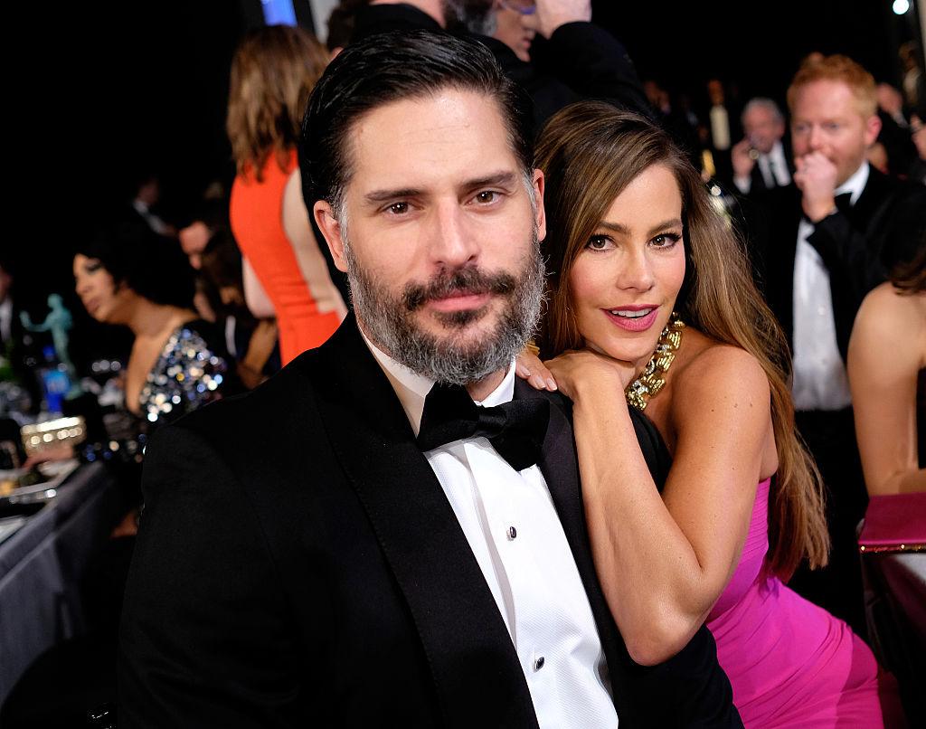Sofia Vergara and Joe Manganiello at the 22nd Annual Screen Guild Awards.