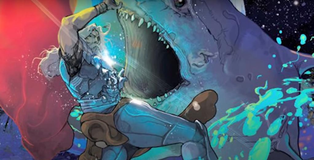 Marvel Thor and Star Sharks