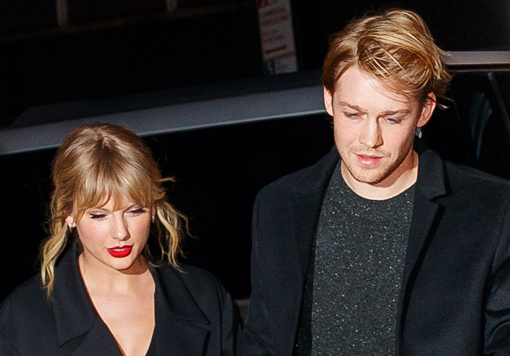 Taylor Swift and Joe Alwyn  on October 6, 2019 in New York City