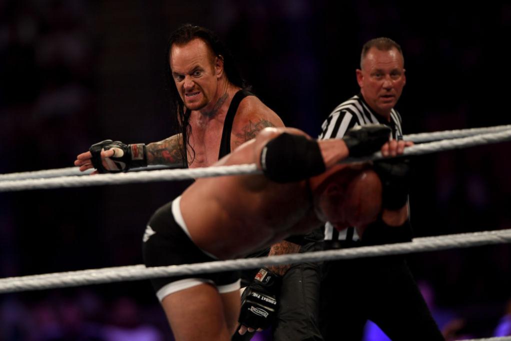 WWE star The Undertaker