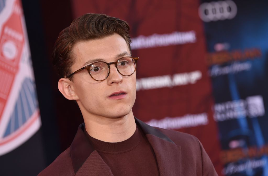 Tom Holland at the 'Spider-Man: Far From Home' World premiere on June 26, 2019.