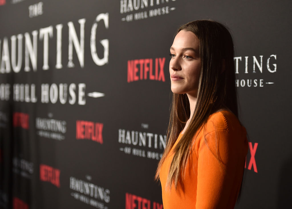 Victoria Pedretti at the premiere of Neflix's 'The Haunting Of Hill House' at ArcLight Hollywood on October 8, 2018.