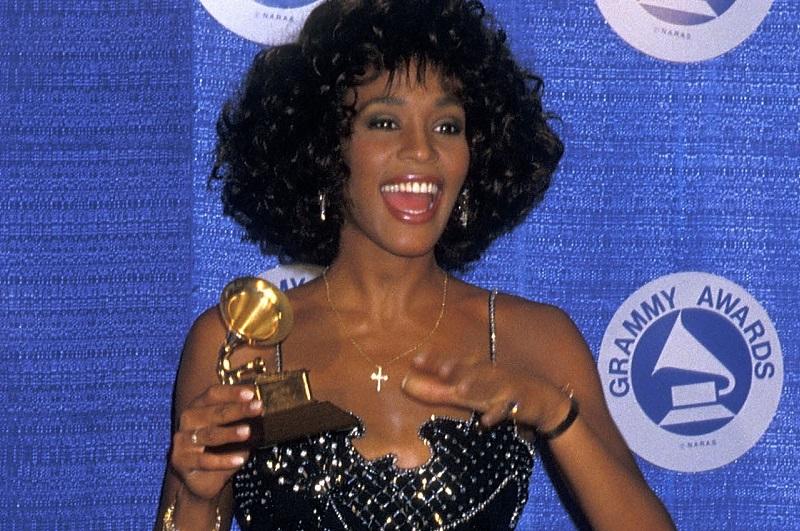 Whitney Houston at 1988 Grammys