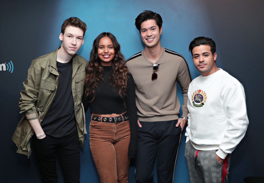 '13 Reasons Why' Cast, Devin Druid, Alisha Boe, Ross Butler and Christian Navarro