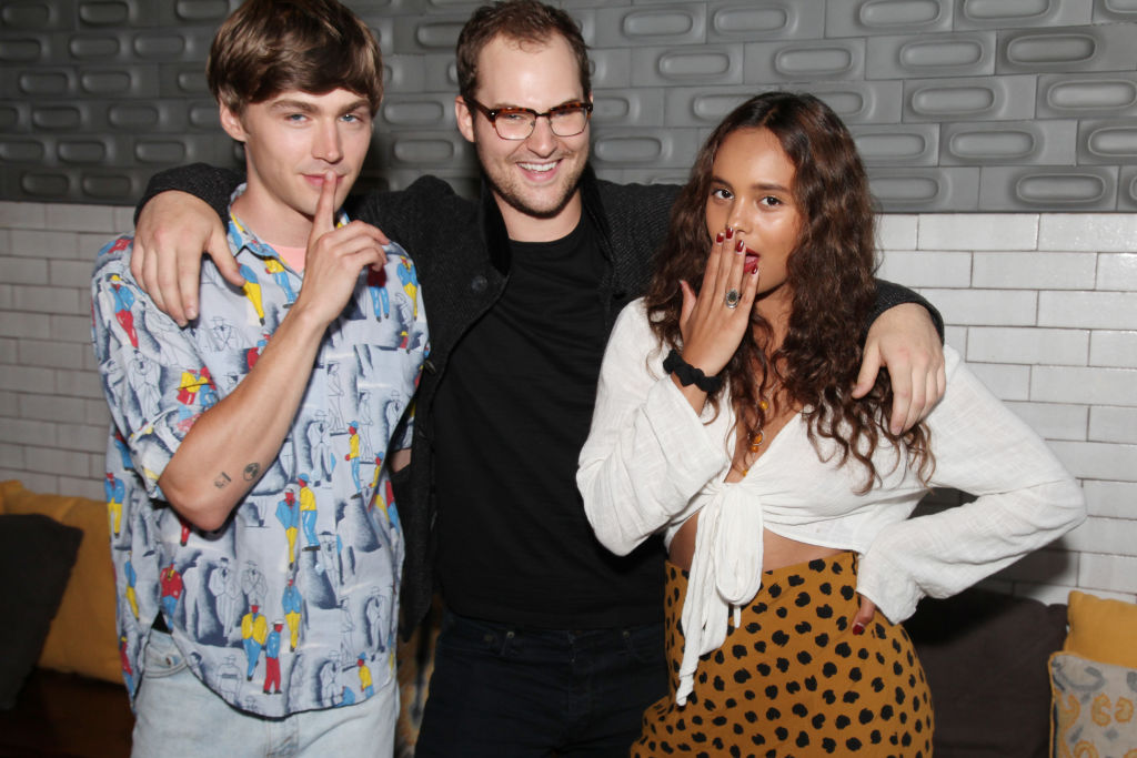 '13 Reasons Why' Cast, Miles Heizer, Justin Prentice and Alisha Boe