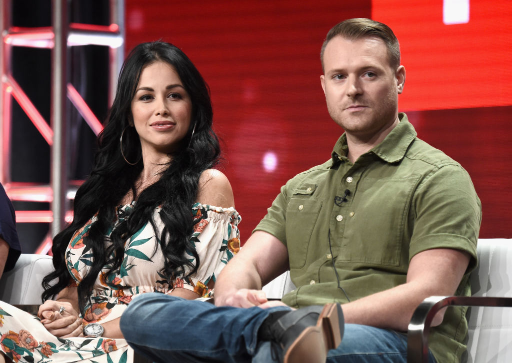 Paola Mayfield (L) and Russ Mayfield of '90 Day Fiance: Happily Ever After?'