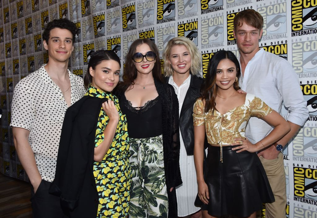 'The Order' cast at Comic Con