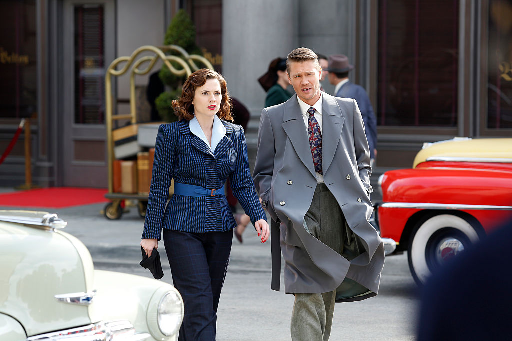 Agent Carter | Hayley Atwell as Peggy Carter and Chad Michael Murray as Jack Thompson