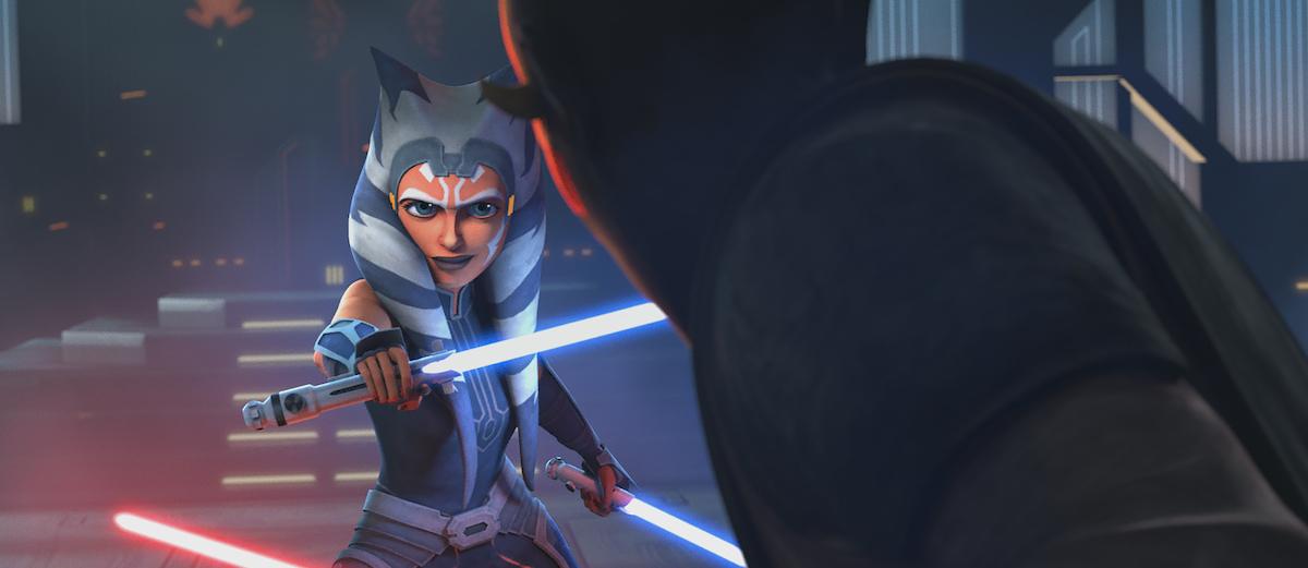 Ahsoka Tano faces off against Maul in Season 7 of 'Star Wars: The Clone Wars'
