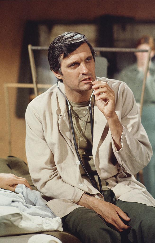 Alan Alda in 'MASH'