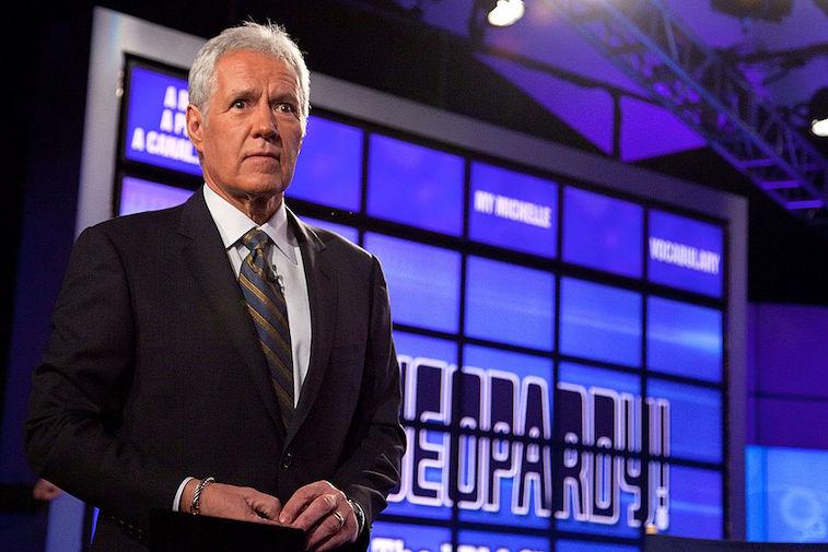 Alex Trebek hosts 'Jeopardy!'