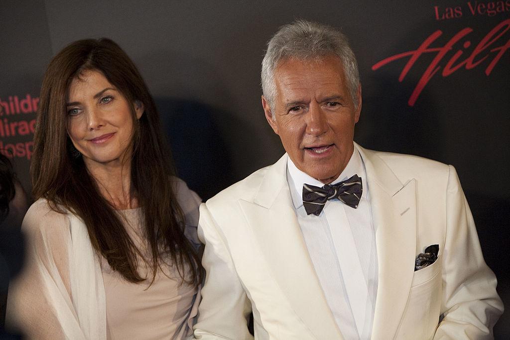 Jeopardy! Host Alex Trebek and Wife Jean Currivan Trebek
