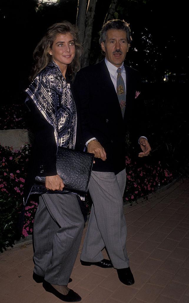 Alex and Jean Trebek