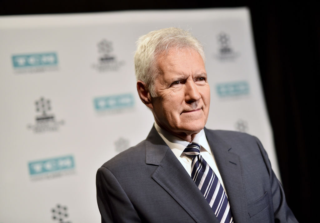 Alex Trebek attends the screening of 'The Bridge on The River Kwai'