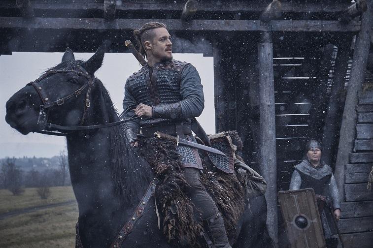 Alexander Dreymon as Uhtred in 'The Last Kingdom'