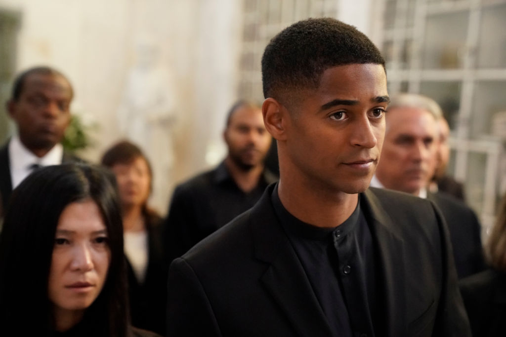 Alfred Enoch in 'How to Get Away with Murder'