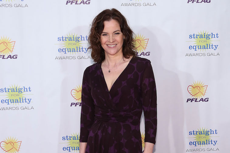 Ally Sheedy on the red carpet