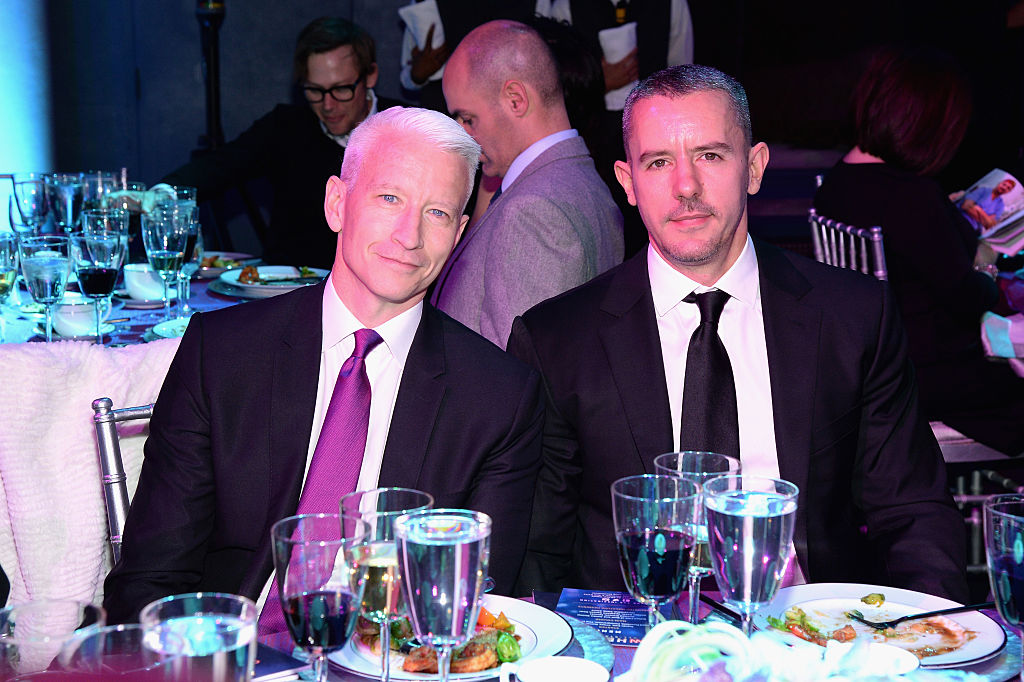 Anderson Cooper and Ben Maisani