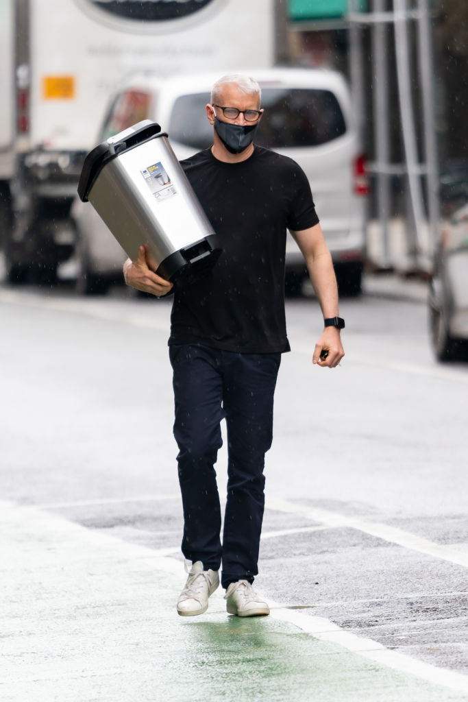Anderson Cooper in New York