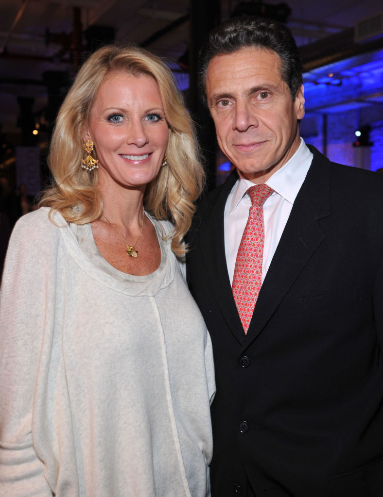 Sandra Lee and New York Governor Andrew Cuomo attend Diet Pepsi Spices Up NYC's Wine and Food Festival