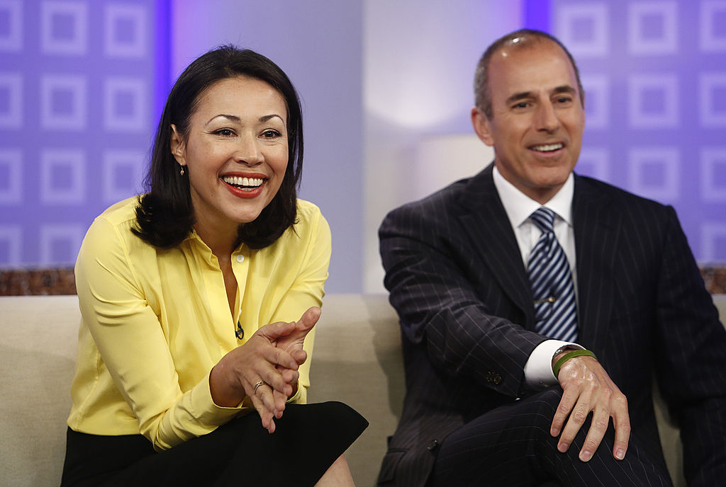 Ann Curry and Matt Lauer of the 'Today Show'