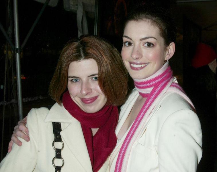 Anne Hathaway and Heather Matarazzo