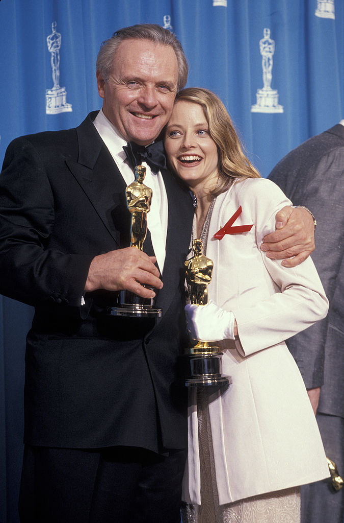 Anthony Hopkins and Jodie Foster