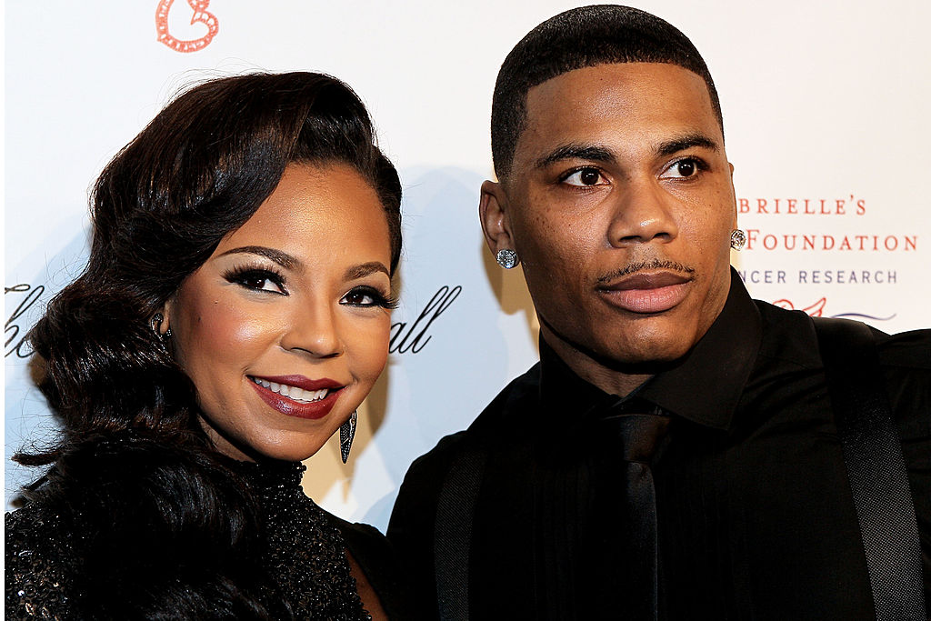Ashanti and Nelly attends the Angel Ball 2012 at Cipriani Wall Street on October 22, 2012 in New York City