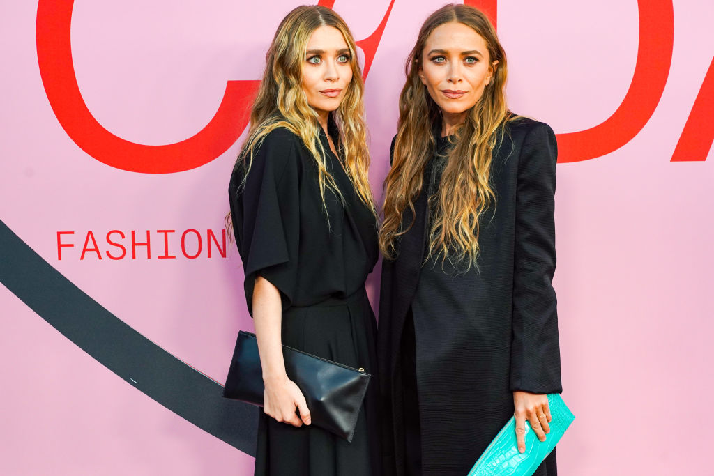 Mary-Kate Olsen and Ashley Olsen attend the 2019 CFDA Fashion Awards