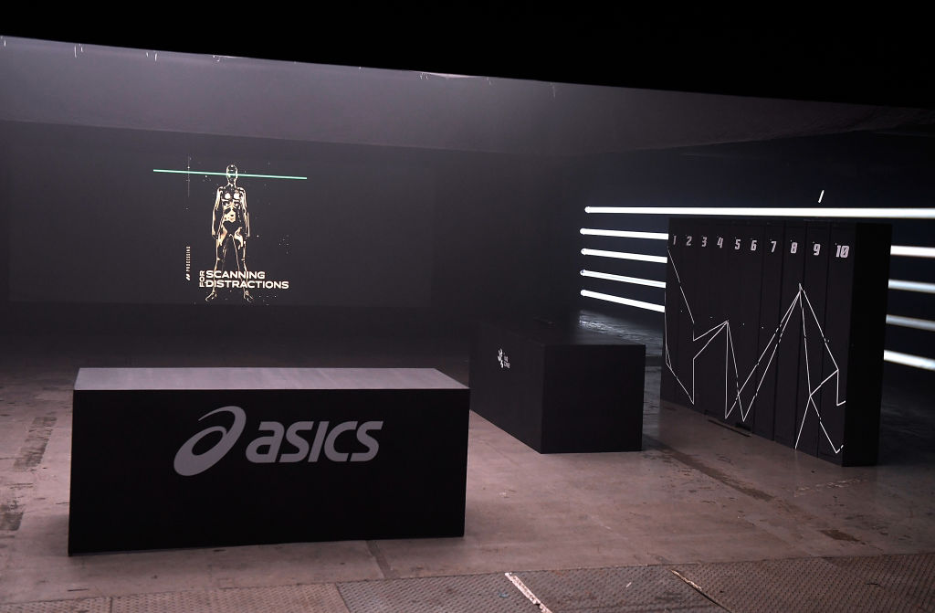 ASICS launches the Blackout Track, the world's first running track to train the mind at The Printworks