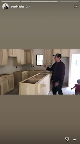 Austin Forsyth takes fans through his latest home renovation project.