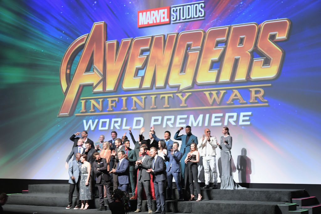 The cast of Marvel's 'Avengers: Infinity War' attend the Los Angeles Global Premiere