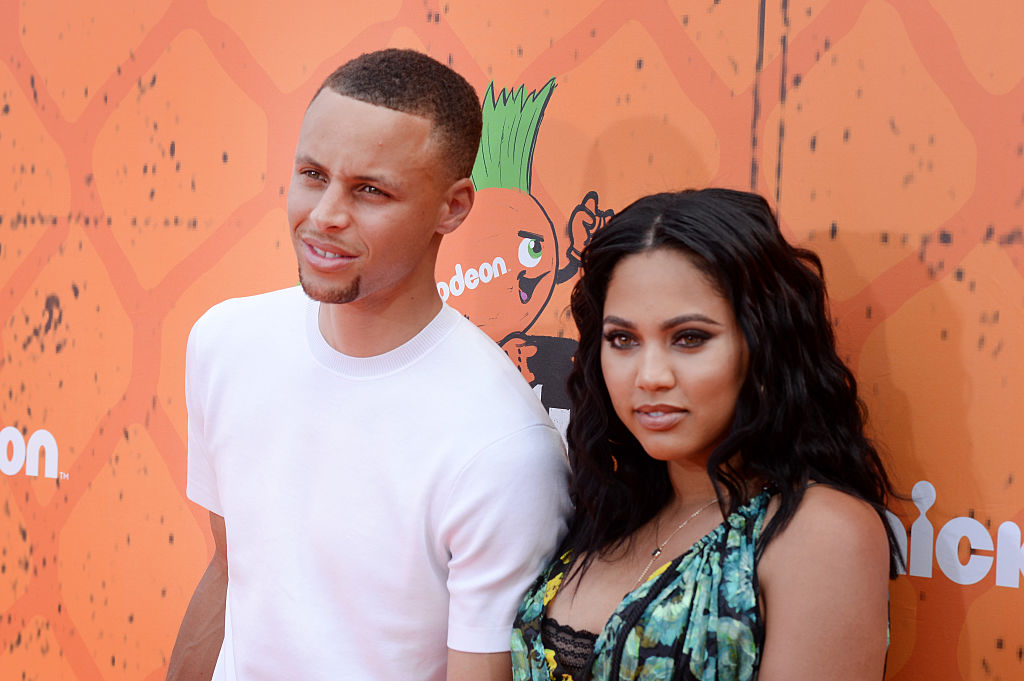 Ayesha and Steph Curry in 2016 | Kevin Winter/Getty Images