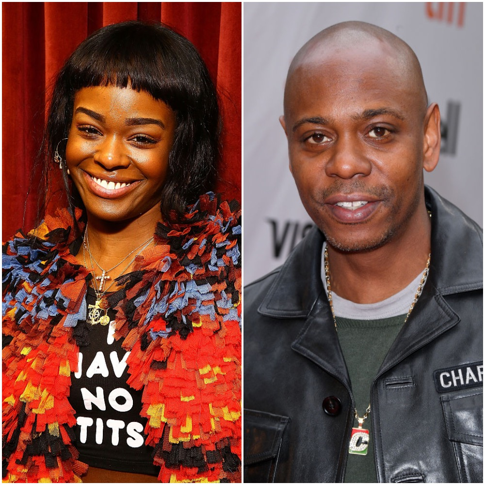 Azealia Banks and Dave Chappelle