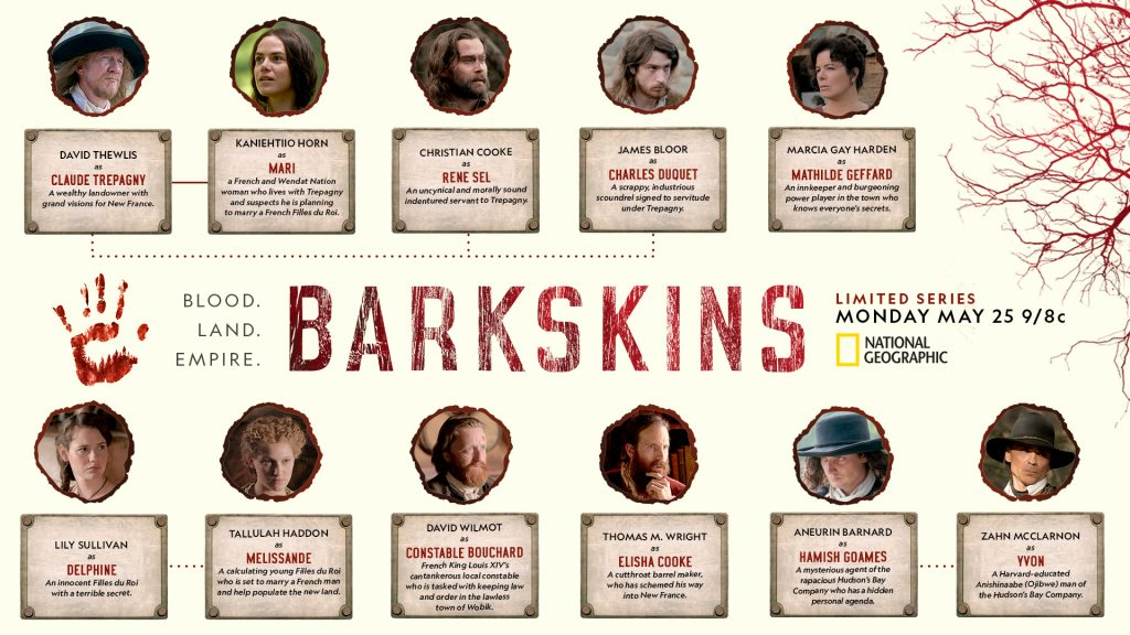 Barkskins Character Tree Graphic