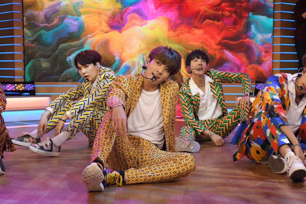 BTS performs live on 'Good Morning America'