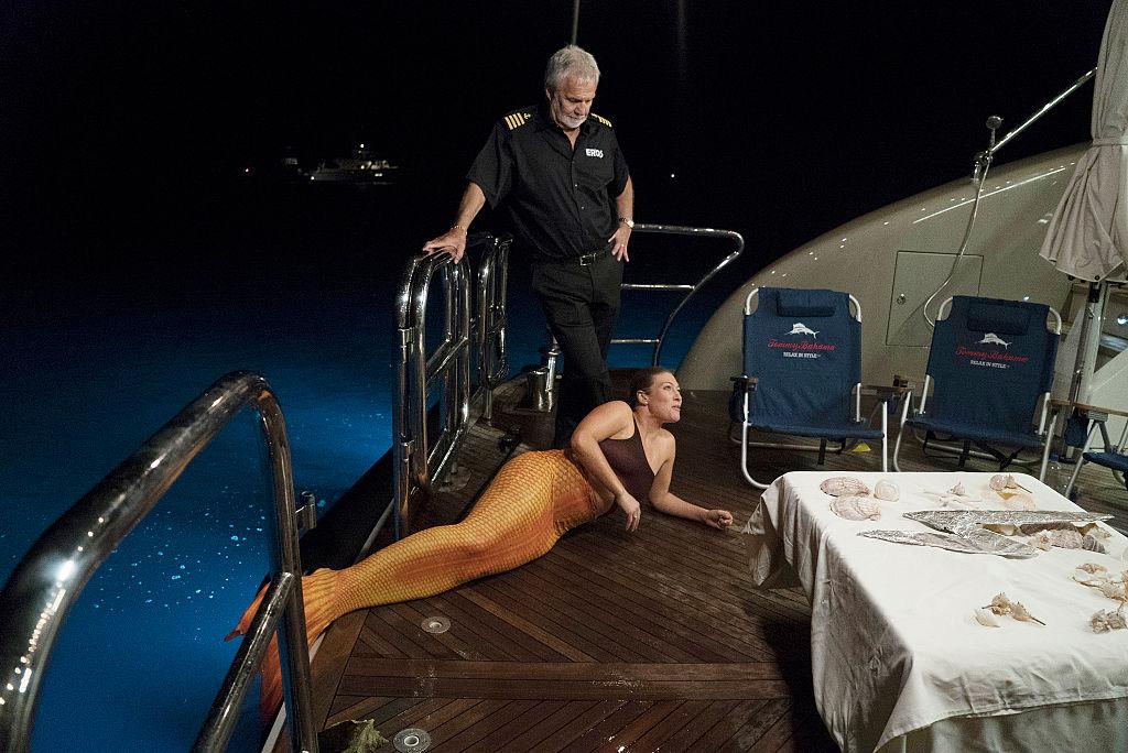 Captain Lee Rosbach, Raquel Bartlow from 'Below Deck'