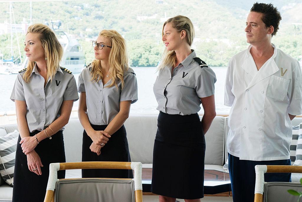 Kate Chastain, Emily Warburton-Adams, Sierra Storm, Ben Robinson from 'Below Deck'